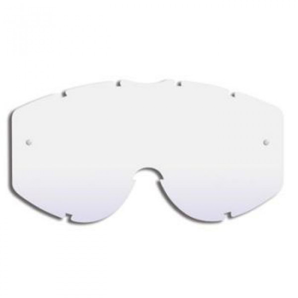 Progrip clear lens replacement with a predisposition roll off