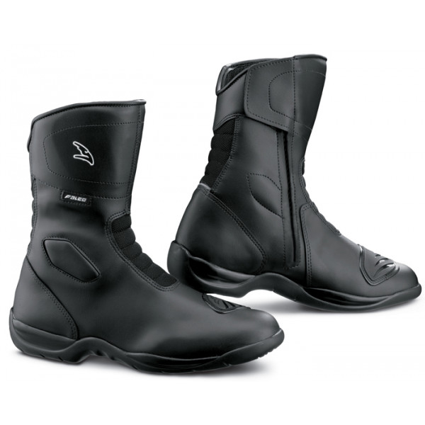Falco Motorcycle Boots Liberty 2 Black Waterproof