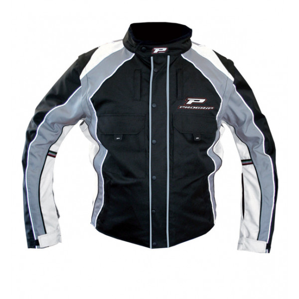 Cross Progrip Enduro Jacket Black White