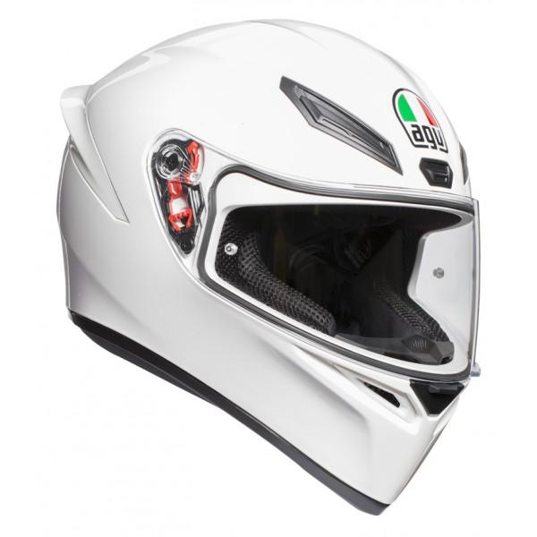 Casco integrale AGV K1 E2205 SOLID Bianco