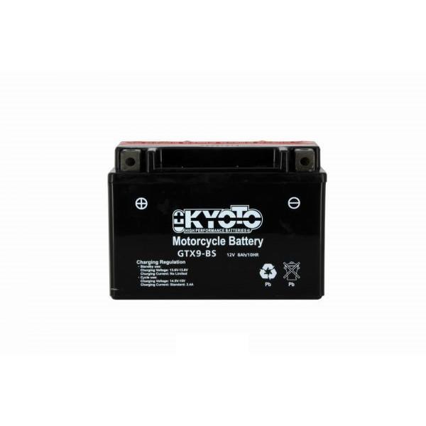 Kyoto battery Ytx9-bs X4- 12v 8ah - L 150mm W 87mm H 105mm - with acid no maintenance