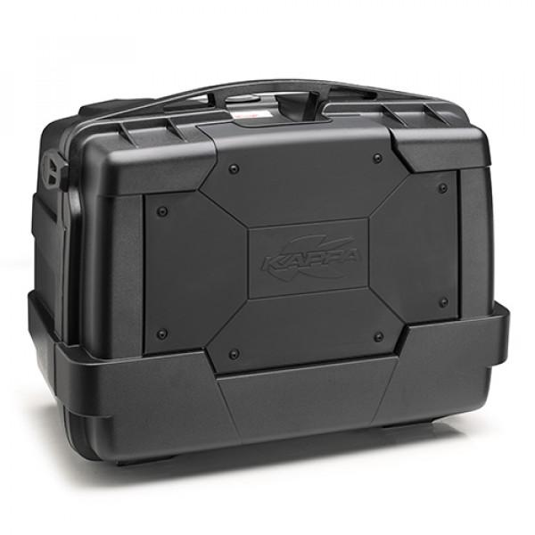 Kappa KGR46 Garda Black Line Monokey top case 46lt black cover black