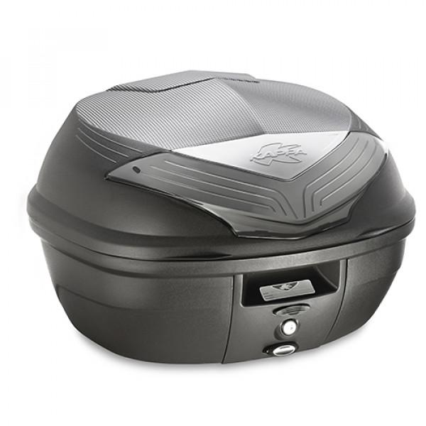 Kappa K355 Monolock top case 35lt black with fumè reflectors