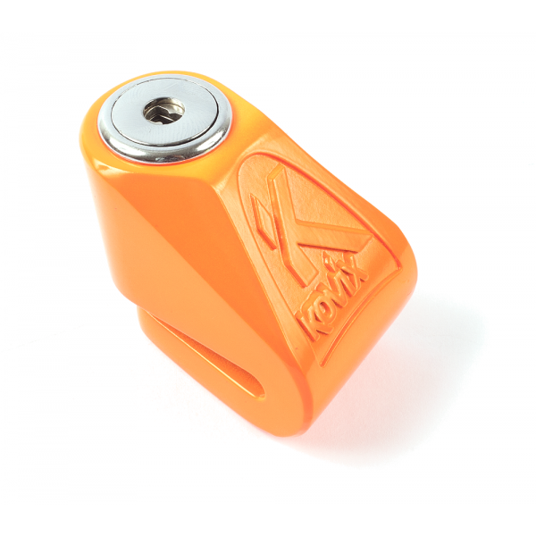 Kovix mini brake lock KN1 pin 6mm fluo orange