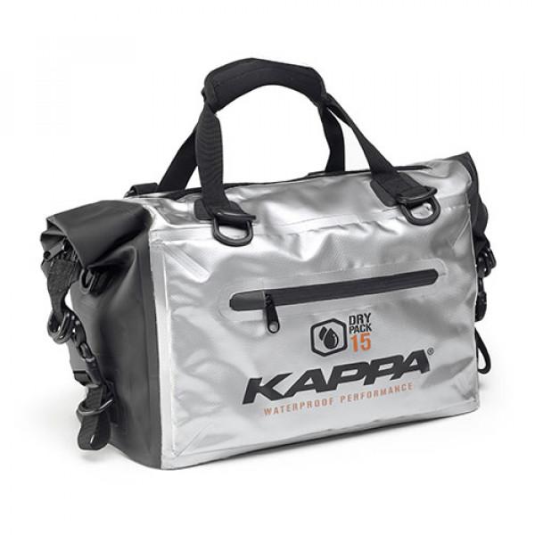 Kappa WA406S cargo bag waterproof 15 lt silver