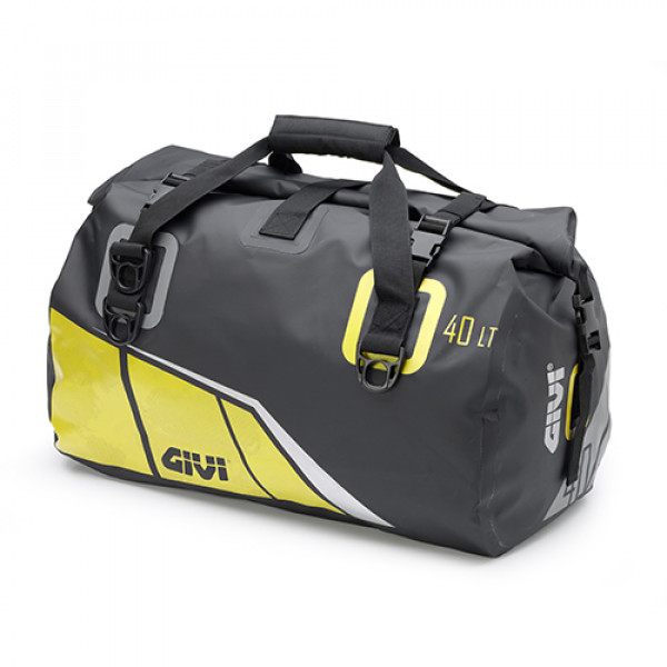 Givi EA115 40lt saddle bag Yellow Grey Silver