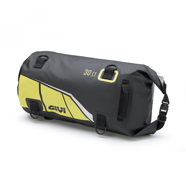 Givi EA114 30l roller saddle bag waterproof Yellow Grey Silver