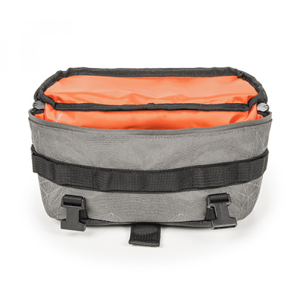 Kappa RA317 handlebar mounted bag Gray