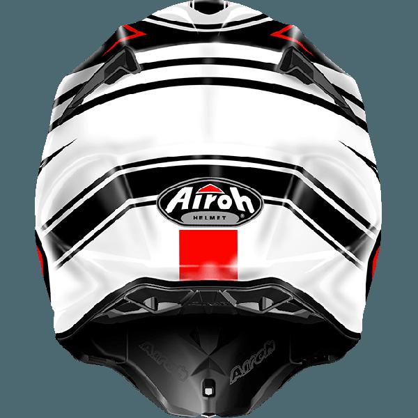 Airoh Twist  Avanger  off road helmet white gloss