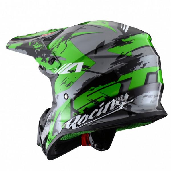 Astone Helmets MX600 Giant Cross Helmet glitter green