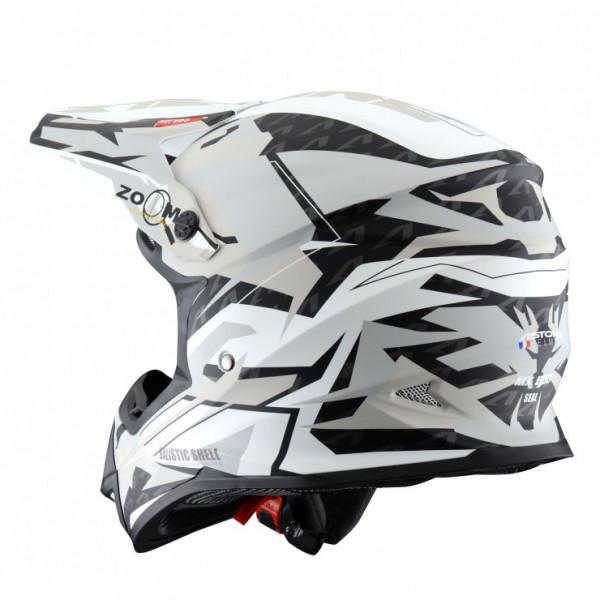 Astone Helmets MX600 Seal Cross Helmet White Sand