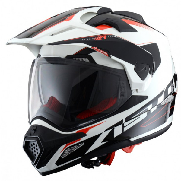 Astone Helmets Tourer cross helmet White Black