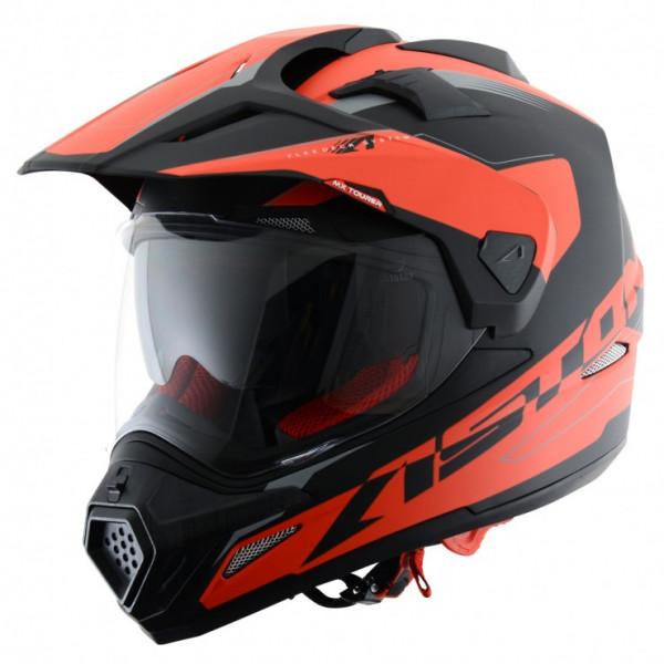Astone Helmets Tourer cross helmet Black Red