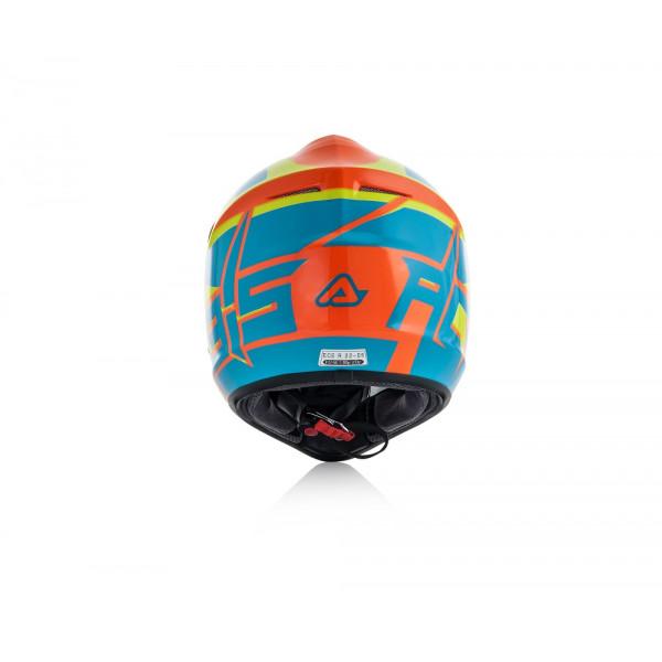 Acerbis kid cross helmet Impact Junior 3.0 ble fluo orange