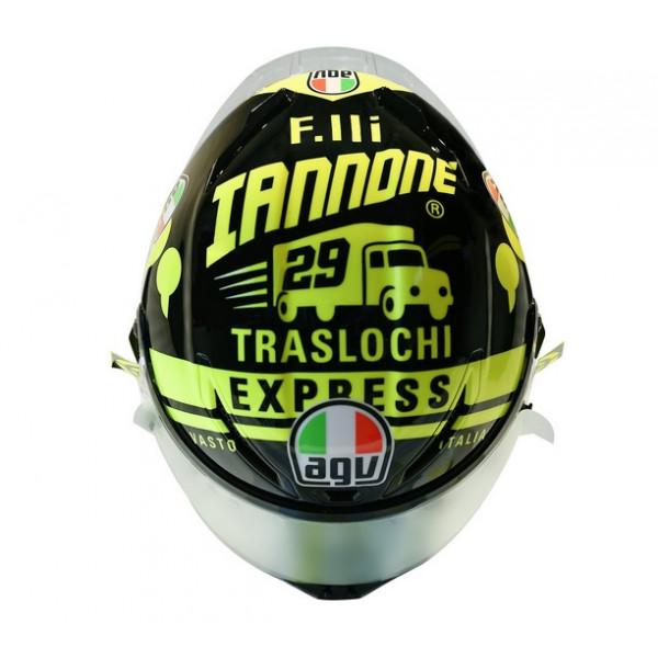 AGV full face helmet Corsa R Iannone 2017 Winter Test
