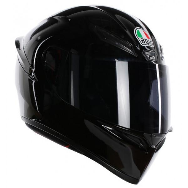 AGV K1 K1 E2205 SOLID full face helmet Black