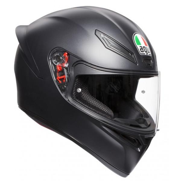 AGV K1 K1 E2205 SOLID full face helmet Matt Black