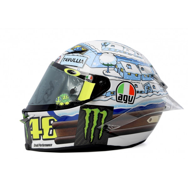 AGV full face helmet Pista GP R Rossi 2017 Winter Test