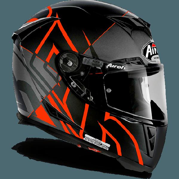 Airoh Gp 500 Fs Pinlock Sectors full face helmet orange matt