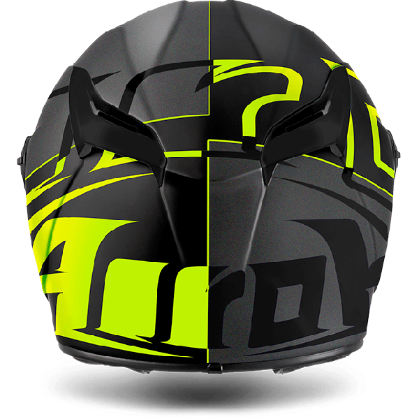 Airoh Gp 500 Fs Pinlock Sectors full face helmet yellow matt