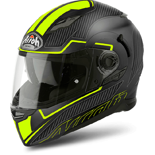 Airoh Movement S Pinlock Included Faster full face helmet yellow matt