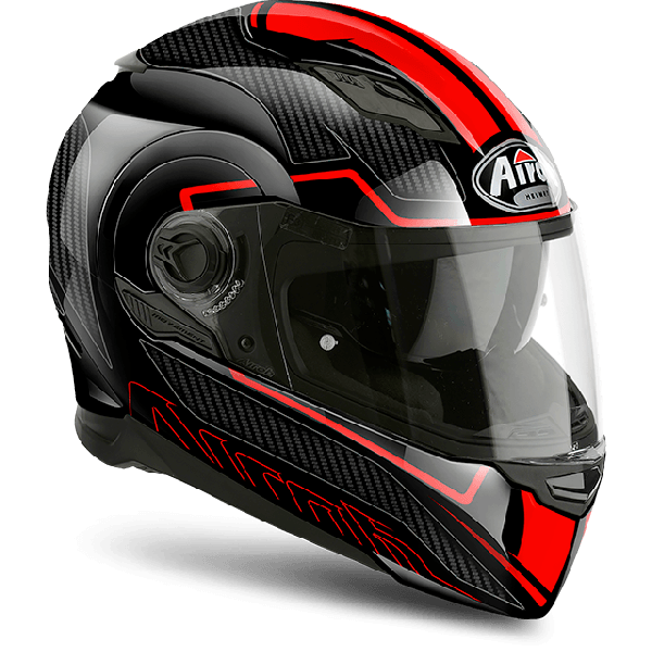 Airoh Movement S Pinlock Included Faster full face helmet red gloss