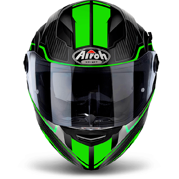Airoh Movement S Pinlock Included Faster full face helmet green gloss