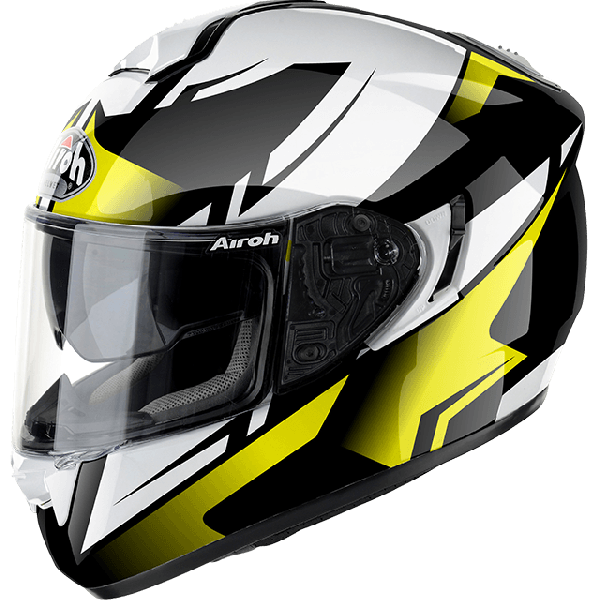 Airoh ST701 Spark fullface helmet yellow gloss