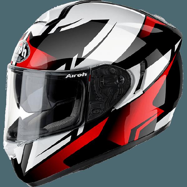 Airoh ST701 Spark fullface helmet red gloss