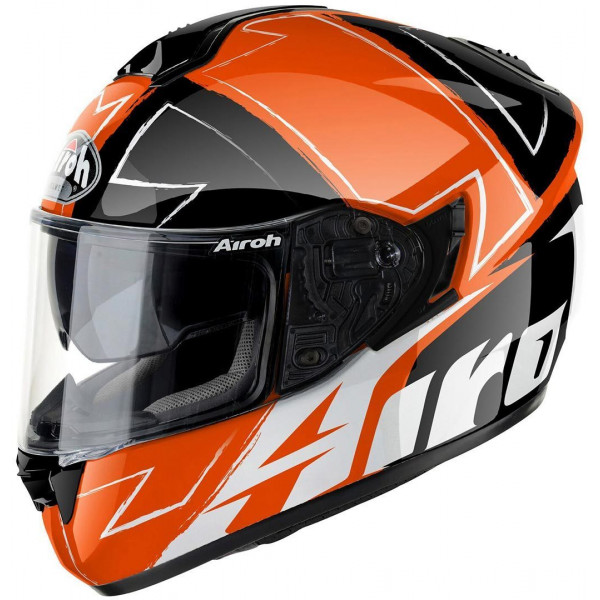 Airoh ST701 Way fullface helmet orange gloss
