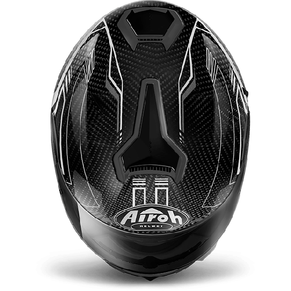 Airoh St 701 Pinlock Included  Safety full carbon full face helmet white gloss