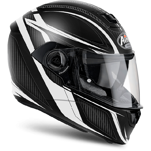 Airoh Storm Pinlock Ready Sharpen  full face helmet white matt