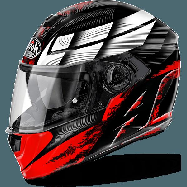 Airoh Storm Pinlock Ready Starter full face helmet red gloss