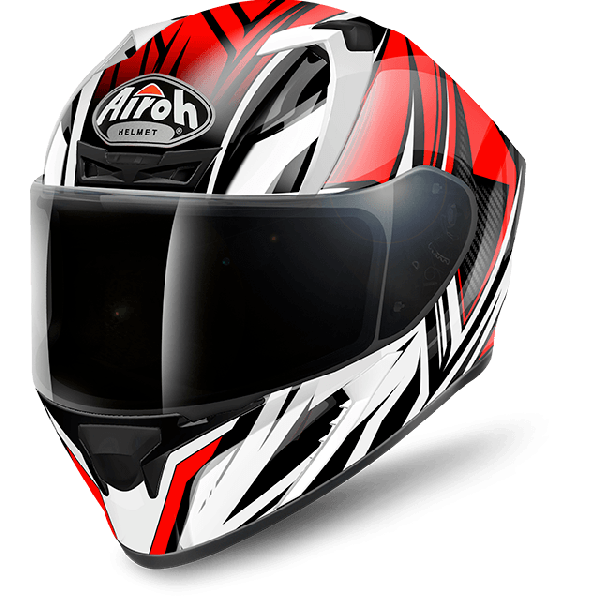 Airoh Valor Pinlock Ready  Conquer full face helmet red gloss
