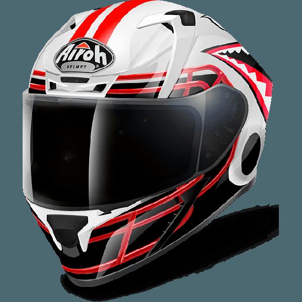 Airoh Valor Pinlock Ready  Touchdown full face helmet gloss