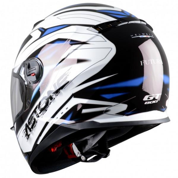 Astone Helmets GT800 Futura full face helmet black blue
