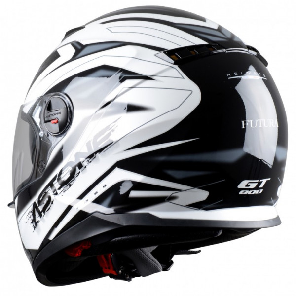 Astone Helmets GT800 Futura full face helmet black grey