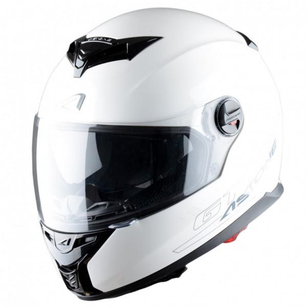 Astone Helmets GT800 Solid full face helmet gloss white