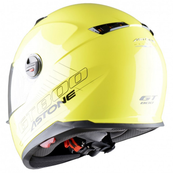 Astone Helmets GT800 Solid full face helmet yellow fluo