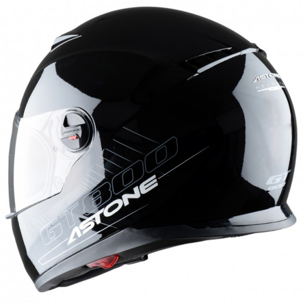 Astone Helmets GT800 Solid full face helmet gloss black