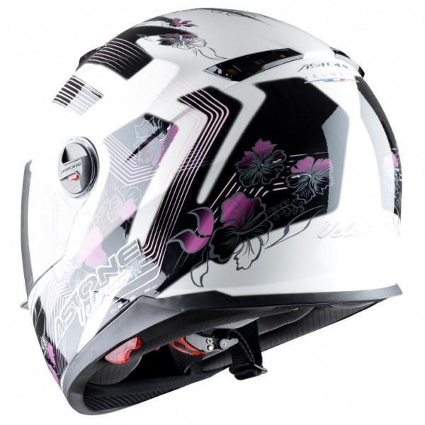 Astone Helmets GT800 Velvet full face helmet pink