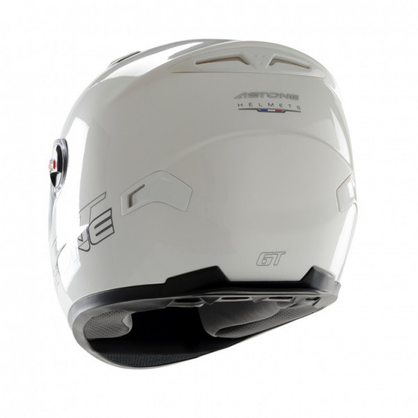 Astone Helmets GT full face helmet gloss white