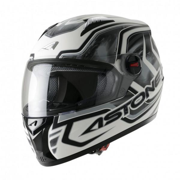 Astone Helmets GT Burning full face helmet grey