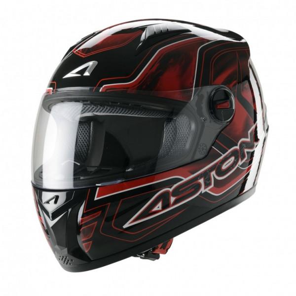 Astone Helmets GT Burning full face helmet red