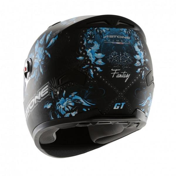Astone Helmets GT Fantasy full face helmet black blue