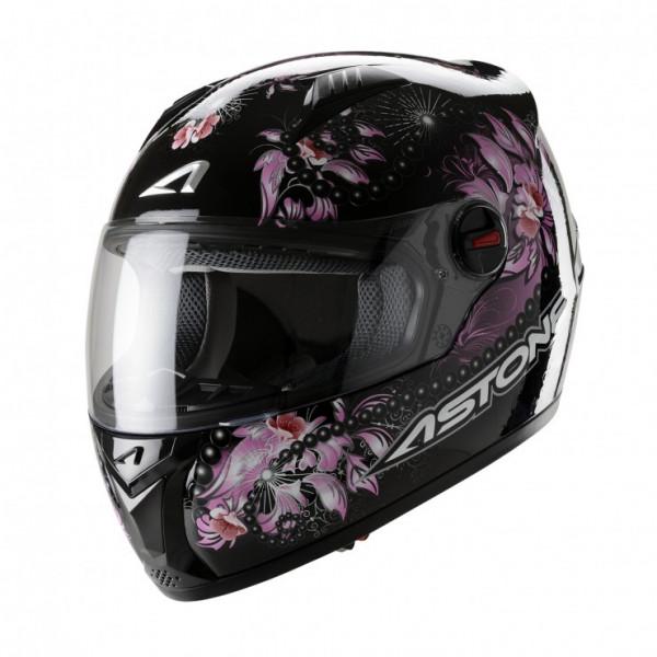 Astone Helmets GT Fantasy full face helmet black pink