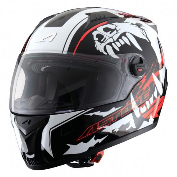 Astone Helmets GT Roak full face helmet fluo red