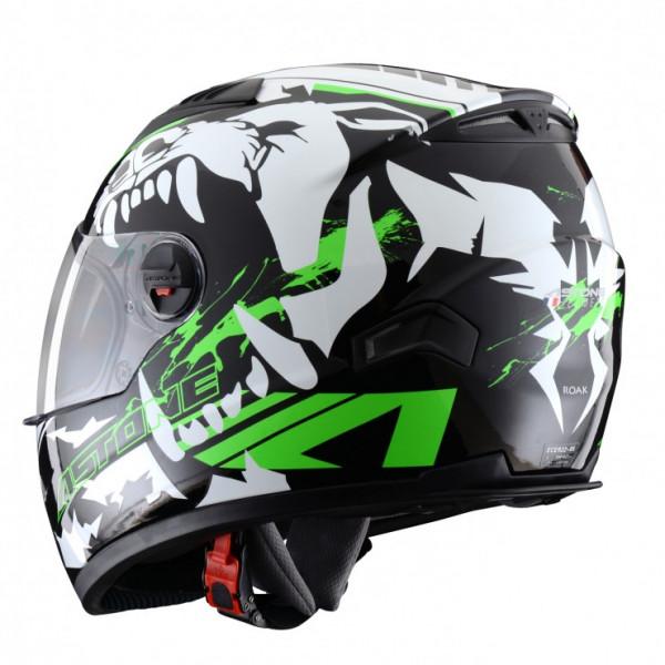 Astone Helmets GT Roak full face helmet fluo green