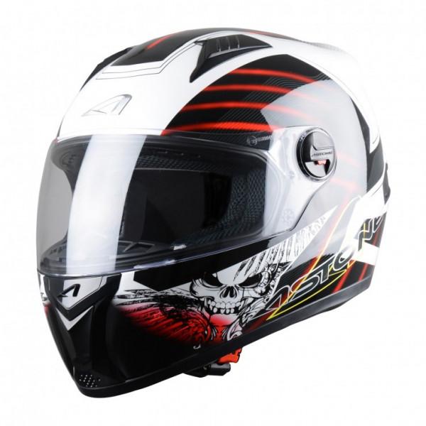 Astone Helmets GT Skart full face helmet black red