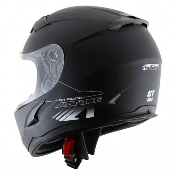 Astone Helmets GT600K kid full face helmet matt Black